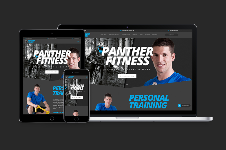 Panther Fitness Website