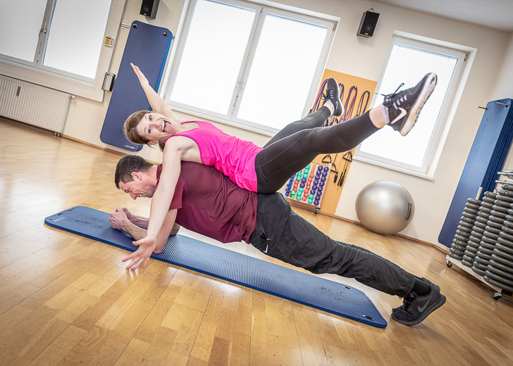 Fat Burning! Training mit Personal Trainer